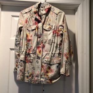 Floral Jacket never worn!
